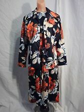 BERKSHIRE B-TWEEN -1970s - Flower Print Dress with Blazer - EMO MOD