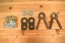 """AR500 1/2"""" USA Steel 3/4"""" Pipe Stand Holders/Target Holders/Chain Kit"""
