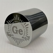 1Kg Polished Germanium Metal Cylinder 63×63mm 99.999% Engraved Periodic Table