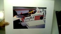 vintage jacques villeneuve sr. 1986 CART LIVING WELL NO. 71 INDY CAR 9 1/2 X 13