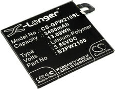 3.85V Battery for Google Nexus M1 Global TD-LTE 35H00263-00M, B2PW2100 3400mAh