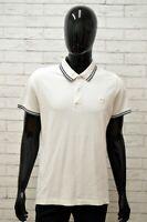 Polo LOTTO Uomo Taglia S Maglia Maglietta Camicia Shirt Man Manica Corta Bianco