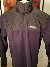 Vintage  Nautica Competition Spellout  Fleece Jacket Mens M Medium