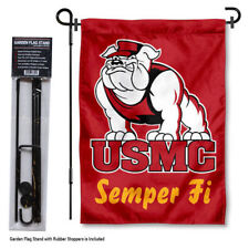 US Marines Corps Garden Flag and Yard Stand Included