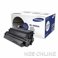 Samsung GENUINE ML-2550DA BLACK Toner Cartridge for ML-2551N Printer