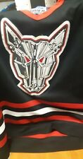 Mississauga icedogs Bauer Black Jersey