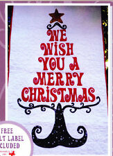 SALE - My Christmas Wish Hanging - piece & applique wall quilt PATTERN