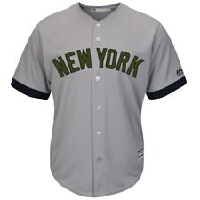 Men's Majestic New York Yankees Memorial Day Replica Jersey JERSEY XL NEW W/TAG