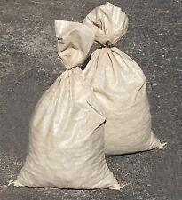SAND BAGS (Qty: 100) Beige - Sandbags For Flooding - Wholesale Bulk by Sandbaggy