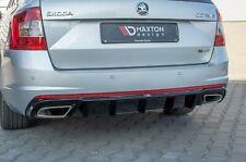 Skoda Octavia RS Diesel Heckansatz Heckdiffusor Diffusor RS 5e 3 Combi Limo