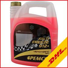 PEMCO Antifreeze 912+ -40°C Kühlmittel G12 Kühlerfrostschutz Rot 5 Liter