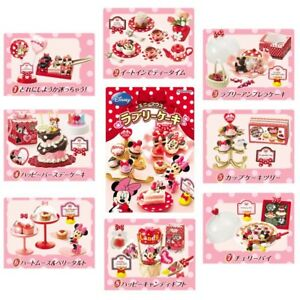 Rare 2008 Re-Ment Disney Minnie Lovely Cake Shop (Each Sell Separately)