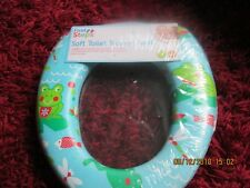 SEALED COLOURFUL SOFT TOILET TRAINER SEATS BY FIRST STEPS