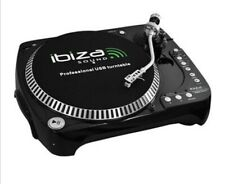 Ibiza Sound  SD USB Turntable Vinyl Record Player PC New