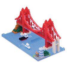 Nanoblock - Golden Gate Bridge - micro-sized construction set