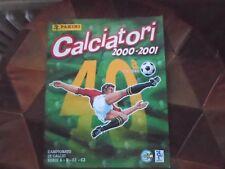 album figurine Calciatori 2000-01 campionato,panini