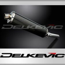 "Kawasaki Versys 1000 18"" Carbon Oval Muffler Exhaust Slip On 10 11 12 13 14"