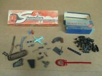 Vintage Model Train Parts HO Mantua Globe Metal Figures Airplane Trucks & More!