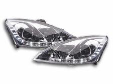 Coppia fanali Daylight Ford Focus 3/4/5 porte Anno: 01-04 cromato