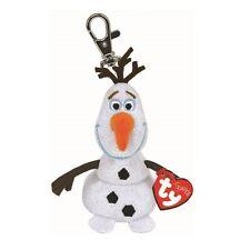 La OLAF Sparkle-Ty Beanie Babies Llavero clave Clip Con Sonido-Peluche congelados Teddy