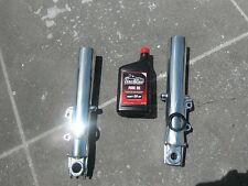 Harley CVO Ultra Classic FLHTCUSE6 2000-2013 Lower Slider Fork Legs POLISHED