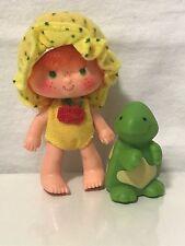 "Strawberry Shortcake ""Apple Dumplin Doll with pet Tea Time Turtle"