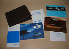 Owner´s Manual + Bordmappe Volvo S 70 / V 70 USA + Service Records Stand 1998!