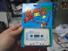 Personalized  Songs for child named Lee Music Cassette
