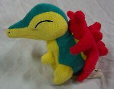 """Hasbro 2005 Nintendo Pokemon MINI CYNDAQUIL 4"""" Plush Stuffed Animal"""