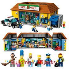Simpsons Kwik E-Mart 16004 Building Block Set 2232Pcs Toy