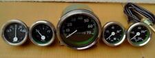Jeep Gauges Kit - Speedometer 70 mph Willys MB Ford CJ GP Temp Oil Fuel Amp