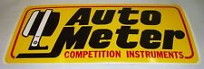 AUTO METER large Sticker holley edelbrock carby tool box man cave beer fridge
