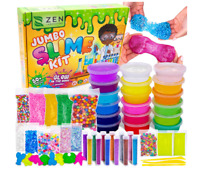 DIY Slime Kit for Girls Boys - Ultimate Glow in the Dark Glitter Xmas Slime Kit