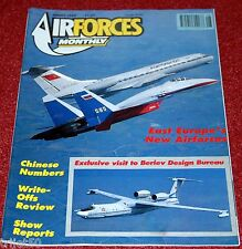 Air Forces Monthly 1992 August Beriev,Vulcan,Alize