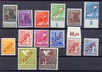 Berlin 21-34 Rotaufdruck postfrisch komplett (qr18)