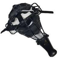 Baseball Softball Umpire Catcher Face Mask Black Protect All Star Throat Guard