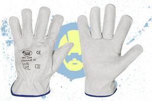 Arbeitshandschuhe aus weichem Rindleder Fahrerhandschuhe Gr.8-12 NEU Stronghand