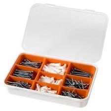 BRAND NEW IKEA FIXA 260 - SCREW AND PLUG SET COMPARTMENT BOX NEW