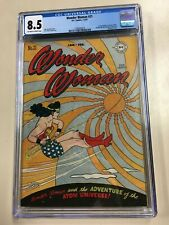 Wonder Woman #21 1947 CGC 8.5 Off-White/White Golden Age DC