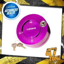 Purple 6 Holes NRG Steering Wheel Quick Release Lock with Key