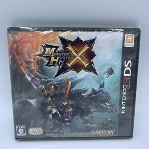 Nintendo 3DS Monster Hunter X Cross Japanese game Capcom New Japan
