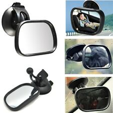 Adjustable Baby Car Mirror Backseat Rearview Mirror Kids Care Suction Cup Mirror