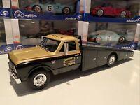 1967 Chevrolet C-30 Ramp Truck 1/18 Scale Smokey Yunick Racing - Black/Gold ACME