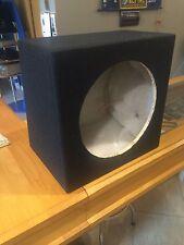 BOX SUBWOOFER CASSA CHIUSA DA 38cm 49 LITRI X LINE BY UNICARS