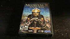 MEDIEVAL II TOTAL WAR PC DVD ROM SIM LIMITED EDITION SOUNDTRACK MAP KEY COMPLETE