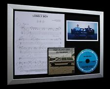 BLACK KEYS Lonely Boy LTD MUSIC FRAMED DISPLAY+EXPRESS GLOBAL SHIP+EL CAMINO