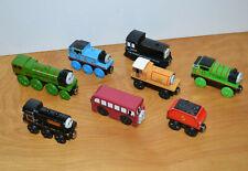 Thomas & Friends Wooden Railway TOY TRAIN Lot Big City Engine Mavis Donald Percy