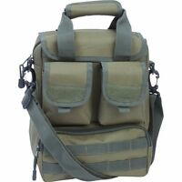 "Olive Green 15"" UTILITY Sling DAY PACK Multiple Pockets -Military Bug Out Bag"