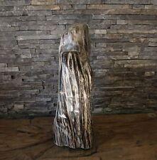 versteinertes Holz fossiles Holz poliert petrified wood Steinobjekt 15,85kg vH38