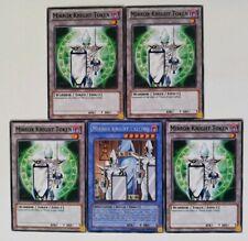 Mirror Knight Calling + 4x Token .Common.. !!! ORICA yugioh